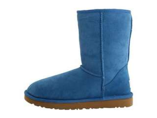 NIB UGG CLASSIC SHORT WOMENS BOOTS SHOES TURKISH TILE BLUE SIZE 7 or 8