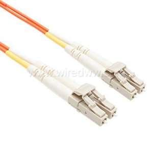 2M 62.5/125 Multimode Duplex LC LC Fiber Patch Cable