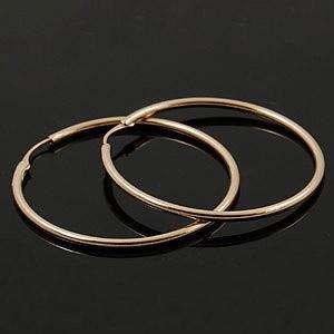 18K Rose Gold Plated 53mm Hoop Earring 11456