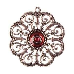 Cousin Jewelry Basics Metal Pendant 1/Pkg Copper Swirl