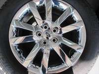 2011 Ford Edge Factory 18 Chrome Clad Wheels Tires Flex OEM Rims