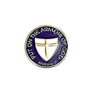Armor of God 1 Lapel Pin B 110