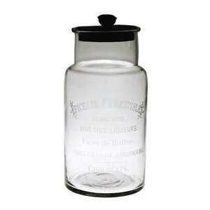 Retold C0820 Epicerie Glass Vintage Canister   Medium
