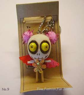 Doll Keyring,Mobile,Bag Charm,Love & Luck,Gift Boxed,New (1 25)
