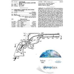 NEW Patent CD for FIBER OPTICAL TARGET PRACTICE SYSTEM