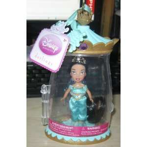 Disney Princess Darlings Jasmine Doll w/ Castle Case