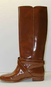 MARC JACOBS Riding Boot Tall Brown Leather Boots 36.5