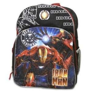Iron Man 2 Backpack Black Style