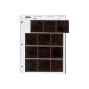 Clear File 120mm SLIDE PAGES (120 4P) 10 PK Camera