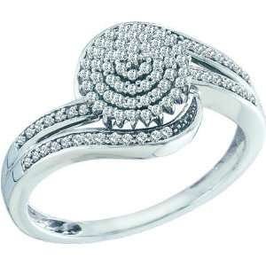 0.30CTW LADIES DIAMOND MICRO PAVE RING Jewelry