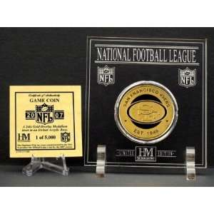 2007 NFL Team Game Coin   San Francisco 49ers