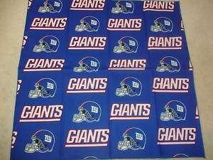 New York Giants NFL Football Fabric Bandana Pet Dog LG