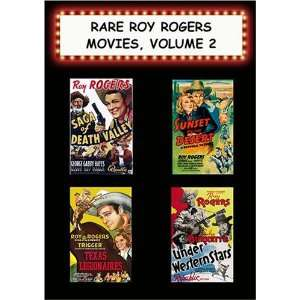 Rare Roy Rogers Movies, #2 Saga/Deah Valley,Sunse on