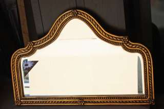 48 WEST DECOR Decorative Gold Mantle Wall Mirror NEW