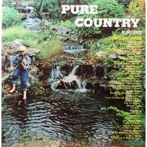 Pure Country 20 Big Hits Original Artists Various Music