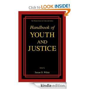 Handbook of Youth and Justice (The Plenum Series in Crime and Justice