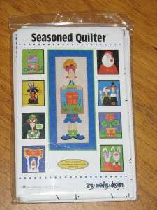 AMY BRADLEY Quilt Pattern SEASONED QUILTER Complete Set of 8 Patterns