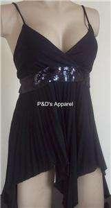 BB Maternity Women Clothes Black Spaghetti String Tank Top Shirt