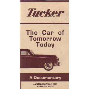 Tucker The Car of Tomorrow, Today A Documentary VHS