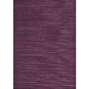 Color BC1580237 Plum Textured Grasscloth Wallpaper: Home Improvement
