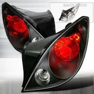 2005 2008 Pontiac G6 Altezza Tail Light Black 2 Door