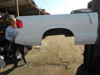 94 03 CHEVY TRUCK S10 S15 GMC SONOMA SHORT BED WHITE 95 96 97 98 99 00