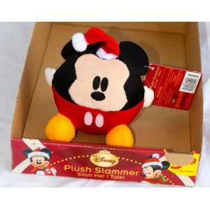CHRISTMAS MICKEY MOUSE PLUSH TALKING/SINGING SLAMMER ** SPECIAL, FREE