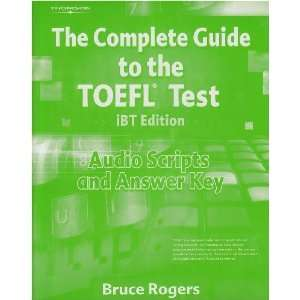 The Complete Guide to the TOEFL Test, iBT Audio Script and Answer