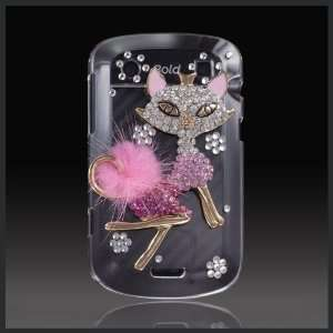 Elite by CellXpressionsTM Sexy Pink Bling Cat Kitty Luxury