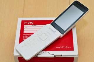 04C SWAROVSKI 13.2MP WATERPROOF JAPANESE FLIP PHONE P 06C NEW