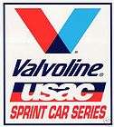 NEW!!! VINTAGE USAC/U.S. AUTO CLUB SPRINT CAR SERIES VALVOLINE DECALS