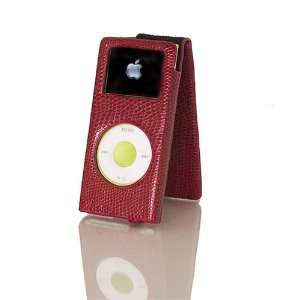 Classic Apple iPod 80 Hard Leather case Video Stand w