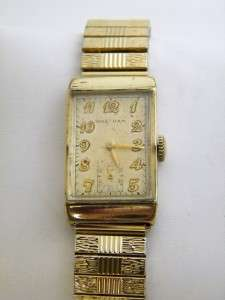 Vintage Mens Watch Waltham 17 jewels 356