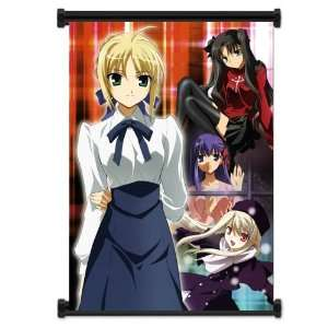 Fate Stay Night Anime Fabric Wall Scroll Poster (16x21