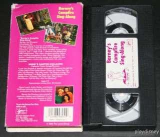 Barney Barneys Campfire Sing Along (VHS) 12