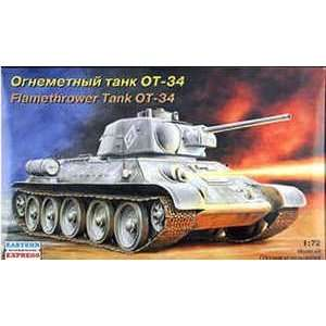 T 34/76 43 FLAMETHROWER 1 72 EASTERN EXPRESS Toys & Games
