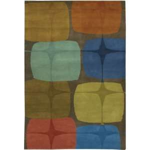 Hand Tufted Contemporary Rectangular 79 X 106 Rug