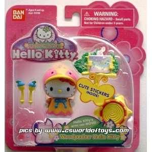 Garden Party HELLO KITTY Woodpecker Hello Kitty Toys & Games