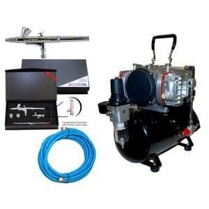 Airbrush Depot KIT G255 828 .2.3.5mm Pro Airbrush 2cc Cup
