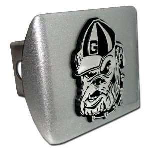 University of Georgia Bulldogs Brushed Silver with Chrome