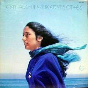 JOAN BAEZ hits / greatest & others LP vinyl VSD 79332