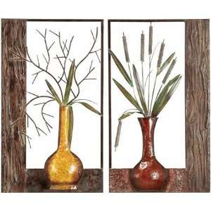 Metal Wall Decor 4 Pcs Set