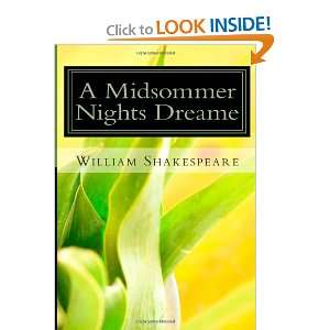 A Midsommer Nights Dreame (9781468040111) William