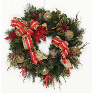 Creative Design Group Traditional Holiday Wreath