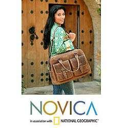 World Traveler Leather Travel Bag (Mexico)