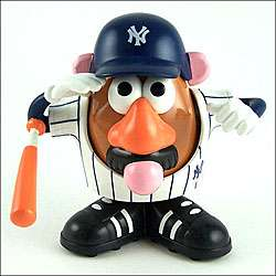 New York Yankees Mr. Potato Head Toy  Overstock