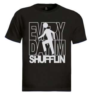 im shufflin T shirt lmfao party rock shufflin funny tee dj new