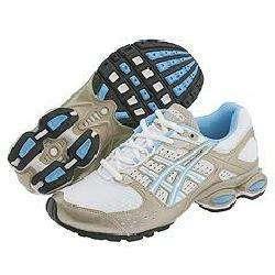ASICS Gel Frantic 2 Womens White/ Alaska Blue Shoes