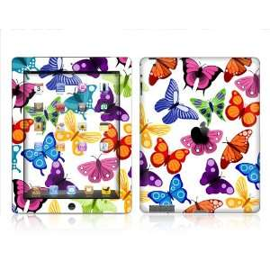 Apple iPAD 2  BUTTERFLY  Removable Decorative Skin/vinyl