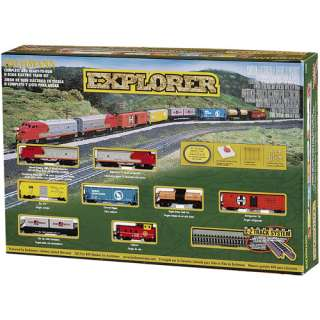 Train Set, E Z Track Train Set, Electric Toy Train Set, Bachmann Train